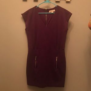 Michael Kors dress with exposed zipper
